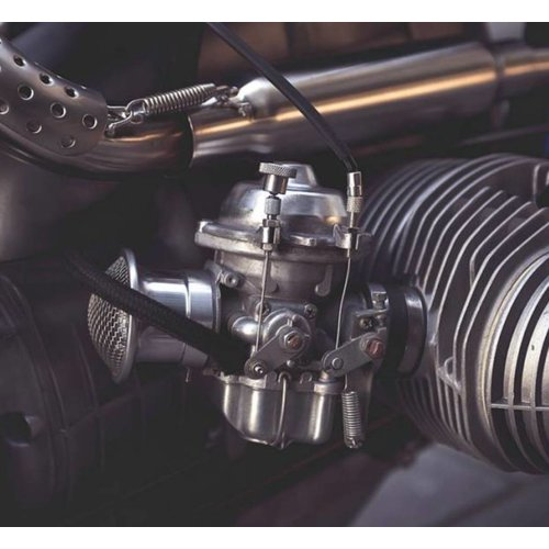 BMW Chokezug Manuell Satz > 9/'80 - Aluminium