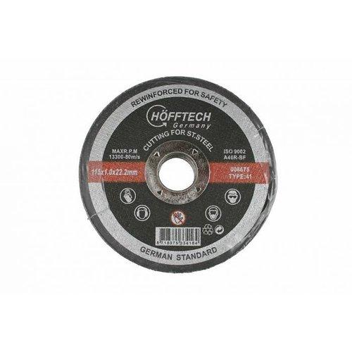 Schleifschiebe Inox 115mm Preis pro Stück