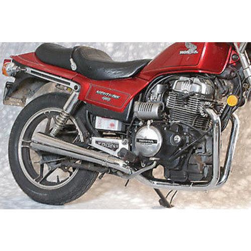 MAC Exhausts Honda CX 500 2-in-1 uitlaatsysteem Megaphone