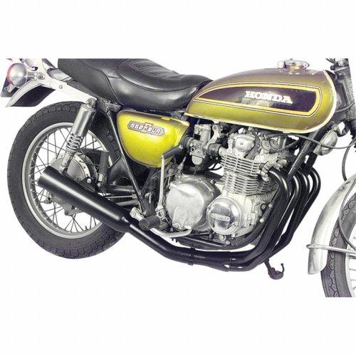 MAC Exhausts Honda CB 500/550 (72-78) 4-in-1 Uitlaatsysteem Zwart