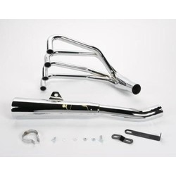 SUZUKI GS 750/850 4-INTO-1 EXHAUST MEGAPHONE chrome