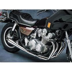 Yamaha XJ 750 4-into-1 exhaust megaphone