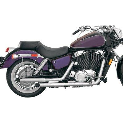 MAC Exhausts Honda VT 1100 Ace Auspuff Staggered Slash Cut