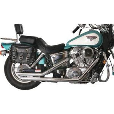 MAC Exhausts Honda 750 Ace Auspuff Drag Pipes Slash Back