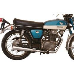 Honda CB 350 2-In-2 Uitlaat