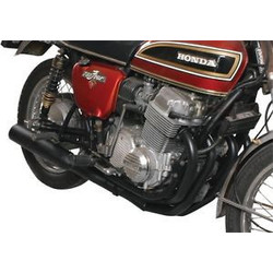 Honda CB 750 Nighthawk 4-Into-1 Exhaust Black