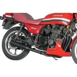 Kawasaki KZ650/750 Système d'échappement 4-en-1 noir