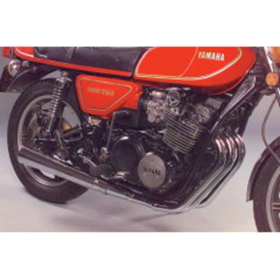 MAC Exhausts Yamaha XS 750/850 3-into-1 Exhaust Megaphone
