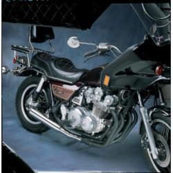 Honda CB 750/900/1100 4-into-1 Exhaust Megaphone Black/Chrome
