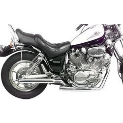 Yamaha Virago 500 Auspuff Staggered Slash Cut