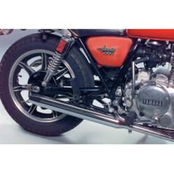 Yamaha XS 400 2-in-2 Auspuff vervanging Muffler