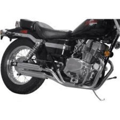 MAC Exhausts Honda VT 700/750 Exhaust Staggered Slash Cut