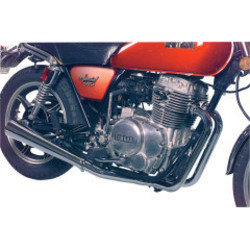 Yamaha XS 400 2-into-1 exhaust system Megaphone