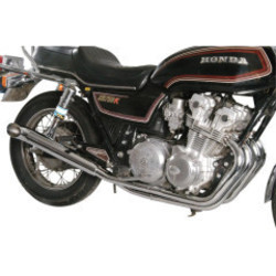Honda CB 750 K 4-into-2 exhaust system chrome