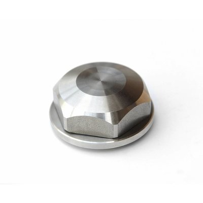 RCO BMW Center Top Nut - Closed - Stainless Steel