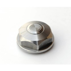 BMW Center Top Nut - Push Button - Stainless Steel