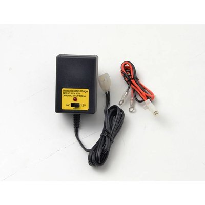 Emgo Battery Charger 12 Volt & 6 Volt