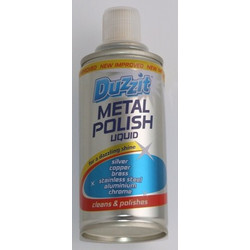 Duzzit Metal Polish 180 ml Liquid