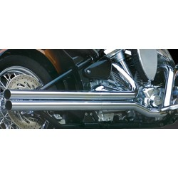 Chrome-plated Long Shots Exhausts (Set)
