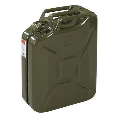 Jerrycan 20 Ltr Armee-Grün.