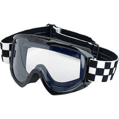 Biltwell Biltwell Goggle Checkered Black