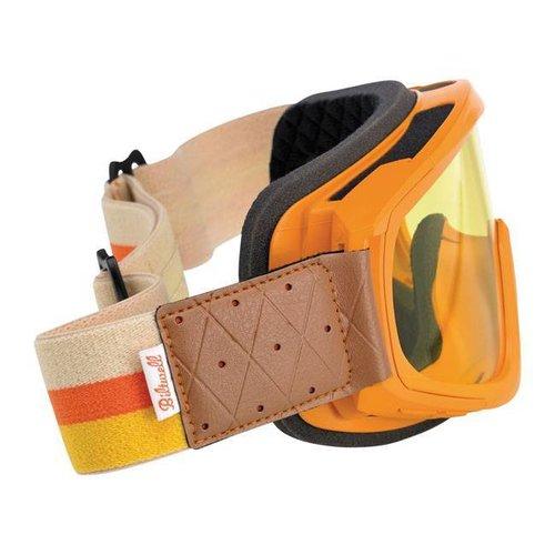 Biltwell Overland Goggle Orange / Gelb