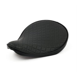 Bobber Seat Small Diamond Zwart