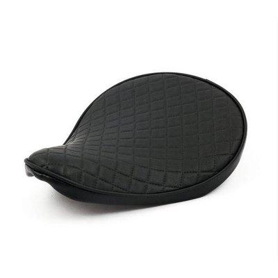 Bobber Seat Small Diamond Black