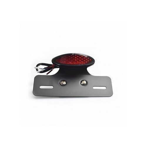 LED Rücklicht Rot mitKennzeichenhalter