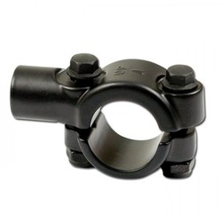 Mirror Handlebar Clamp Black 22mm M10