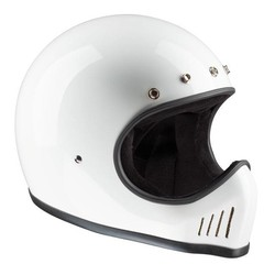 Historic Motocross Helm Wit