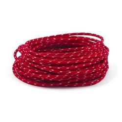 Gevlochten Kabel 3MM Rood 7,5 Meter
