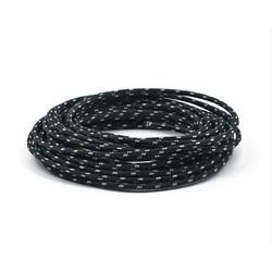 Gevlochten Kabel 3MM Zwart 7,5 Meter