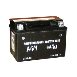 Battery  intAct CTX9-BS Maintenance Free, Incl. Acid-Package