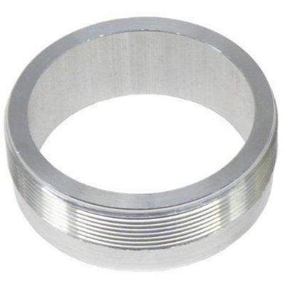 """MCU Aluminium 2.5"""" Flange with threading (for Monza caps)"""