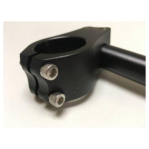 37MM Clipons CNC Zwart Type 2