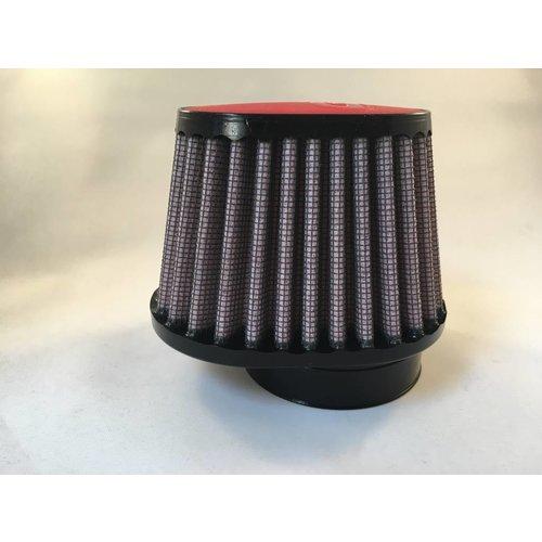 DNA 51 mm ovaal filter lederen bovenkant rood
