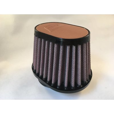 DNA 51MM Oval Filter Leather Top Light Brown
