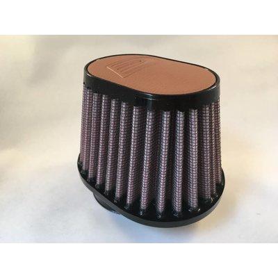 DNA 54MM Oval Filter Leder Top Light Brown