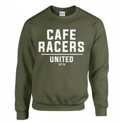 Cafe Racers United Sweater - Militär