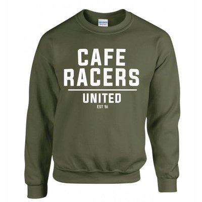 MCU Cafe Racers United Sweater - Militär