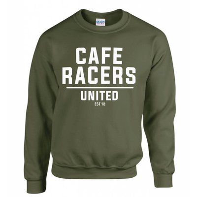 MCU Cafe Racers United Sweater - Militair