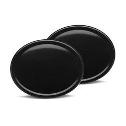 Plaque d'immatriculation ovale en ABS