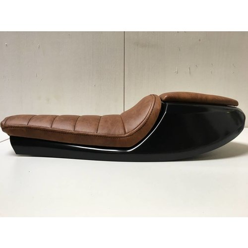 """C.Racer Cafe Racer """"Neo"""" Seat Tuck 'N Roll Brown Type 3"""