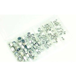 Lock Nut Set DIN 985 - 150 Pieces