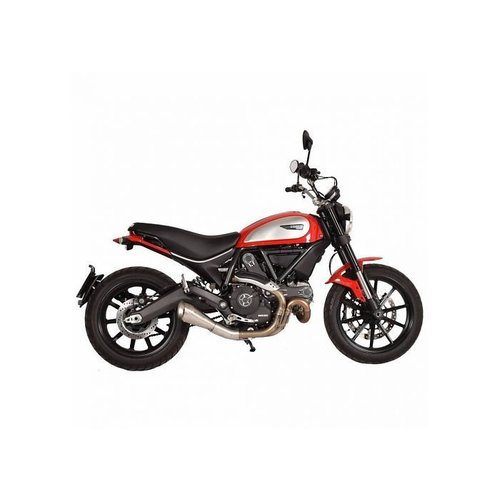 Spark 70's Slip-On-uitlaat Ducati Scrambler 15 - 16