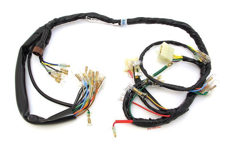 Honda CB750K - 1972 Wiring Harness Complete - Motorcycles United on ct90 wiring harness, cb550k wiring harness, crf250x wiring harness, gl1000 wiring harness, ct70 wiring harness, cb400f wiring harness, cb360 wiring harness, cb160 wiring harness, cbr900rr wiring harness, cb125s wiring harness, cx500 wiring harness, cb750 wiring harness, cbr954rr wiring harness,