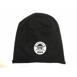 Skull Beanie - Schwarz