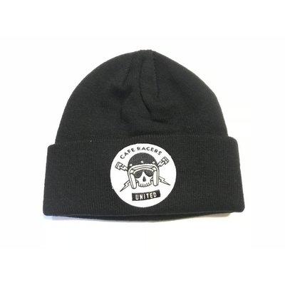 MCU Skull Docker Hat Black