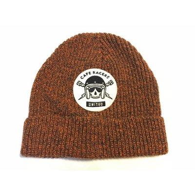 MCU Skull Docker Hat Orange